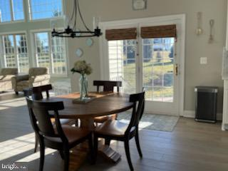 Eat in Kitchen with lots of natural sunlight - 12802 GLENDALE CT, FREDERICKSBURG