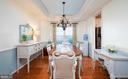 Dining Room off Kitchen - 2140 IDLEWILD BLVD, FREDERICKSBURG