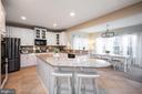 Kitchen and Morning Room - 2140 IDLEWILD BLVD, FREDERICKSBURG