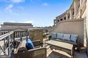 Balcony w/views of Naval Memorial & Archives - 801 PENNSYLVANIA AVE NW #1026, WASHINGTON