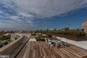 Roof deck entertainment area w/Monument views - 801 PENNSYLVANIA AVE NW #1026, WASHINGTON