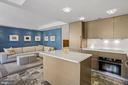 Open kitchen & living area - 801 PENNSYLVANIA AVE NW #1026, WASHINGTON
