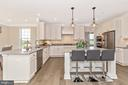 Kitchen with included Recessed Lighting - 6625 ACCIPITER DR, NEW MARKET