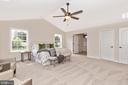 Owners Bedroom with included Cathedral Ceiling - 6625 ACCIPITER DR, NEW MARKET