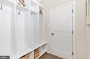 Mudroom with optional Built-Ins - 6625 ACCIPITER DR, NEW MARKET