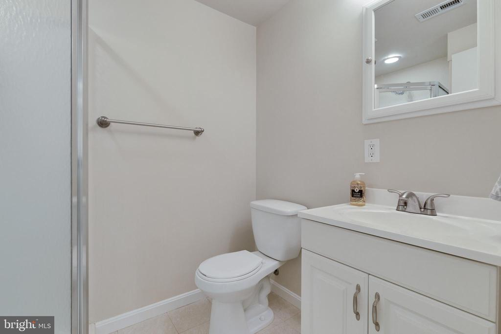 Lower Level Full Bath - 6625 BRIARLEIGH WAY, ALEXANDRIA