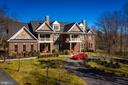 Beautiful Estately Front - 6500 BRIARCROFT ST, CLIFTON