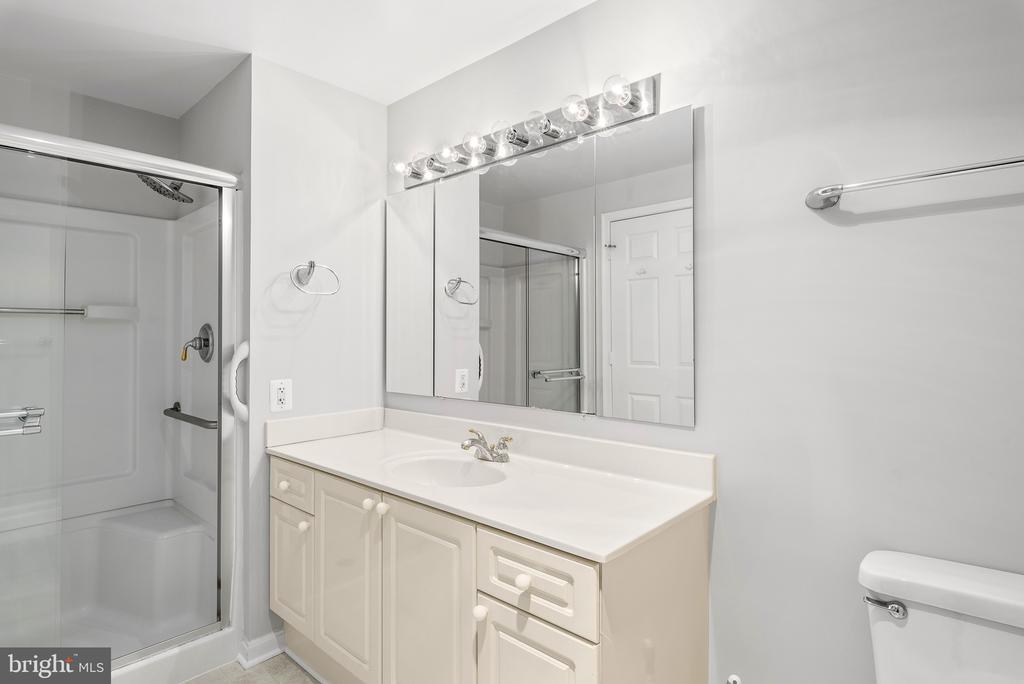 Owner's Bathroom with shower and separate tub - 19365 CYPRESS RIDGE TER #707, LEESBURG