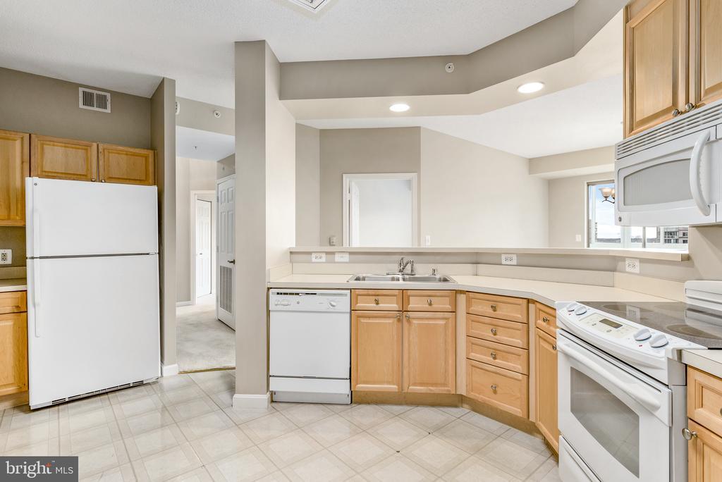 Kitchen - 19365 CYPRESS RIDGE TER #515, LEESBURG