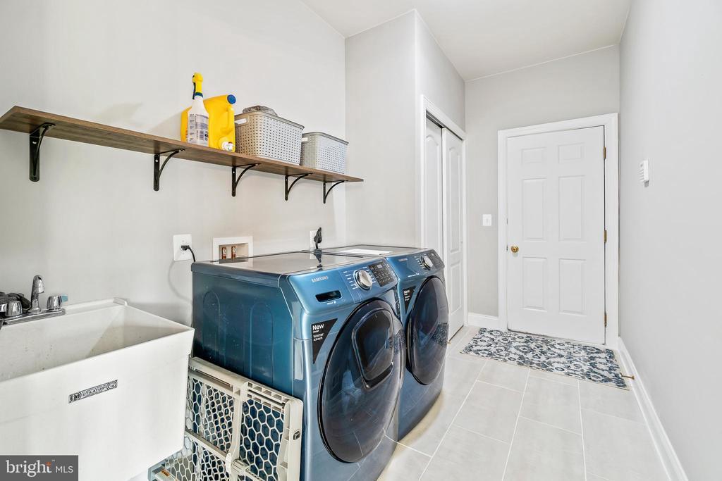 Main level laundry room - 12802 GLENDALE CT, FREDERICKSBURG