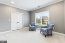 Master bedroom sitting area - 12802 GLENDALE CT, FREDERICKSBURG