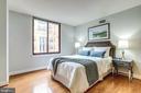 Primary bedroom - 1201 N GARFIELD ST #909, ARLINGTON