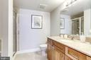 En-suite, primary bathroom - 1201 N GARFIELD ST #909, ARLINGTON