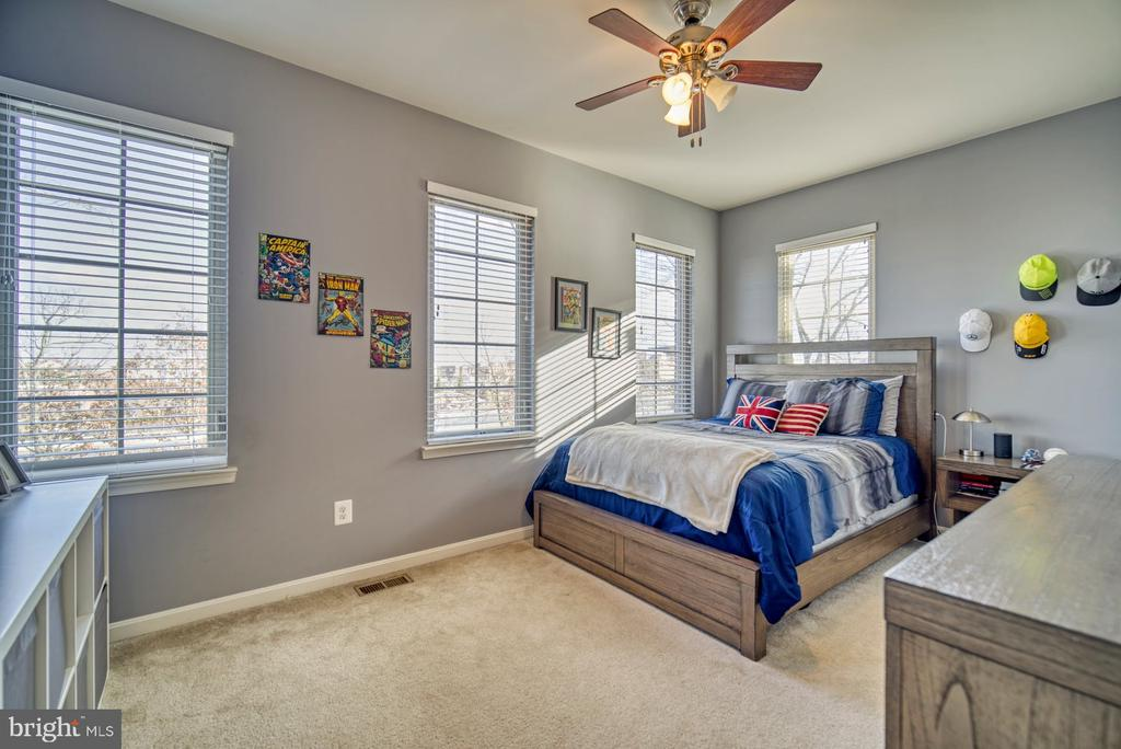 Large Third Bedroom with Lots of Windows - 22908 BOLLINGER TER, ASHBURN