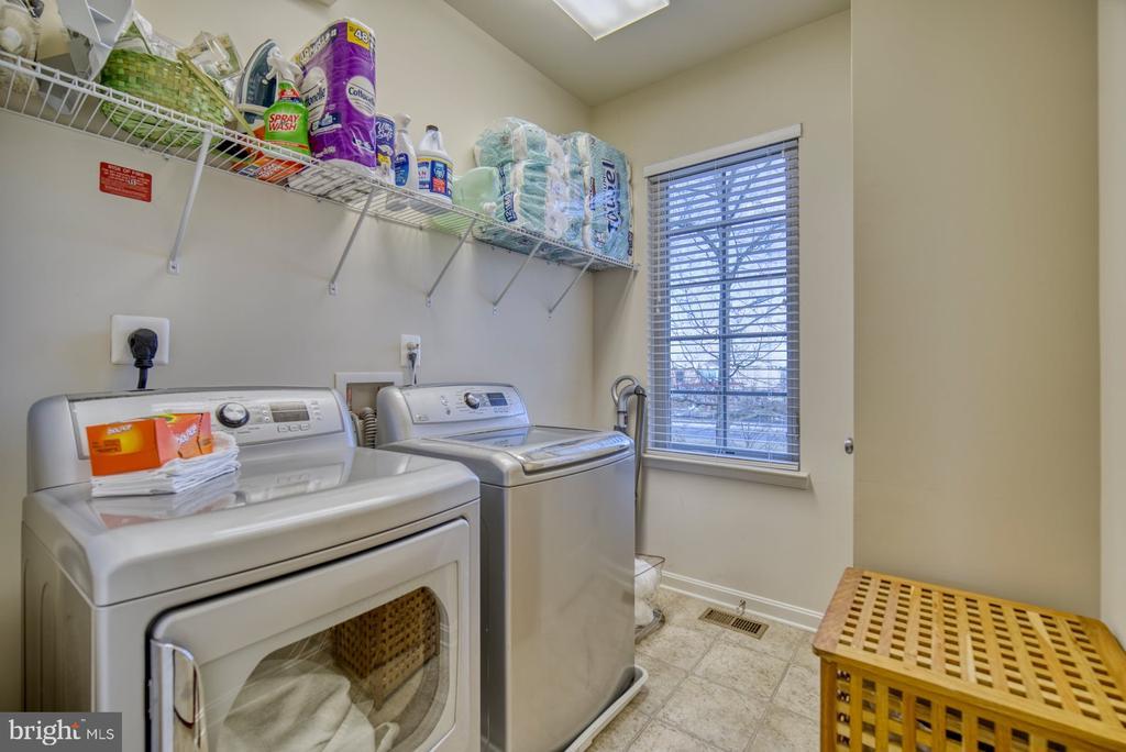 Laundry Room is on the Bedroom Level - 22908 BOLLINGER TER, ASHBURN