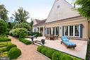 Main Residence Patio View - 21281 BELLE GREY LN, UPPERVILLE