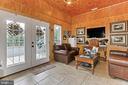 Lounge in Show Barn - 21281 BELLE GREY LN, UPPERVILLE
