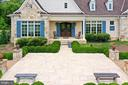 Open front Patio at Main Residence - 21281 BELLE GREY LN, UPPERVILLE