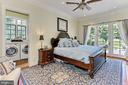 Main Residence Primary  Bedroom opens  to Patio - 21281 BELLE GREY LN, UPPERVILLE