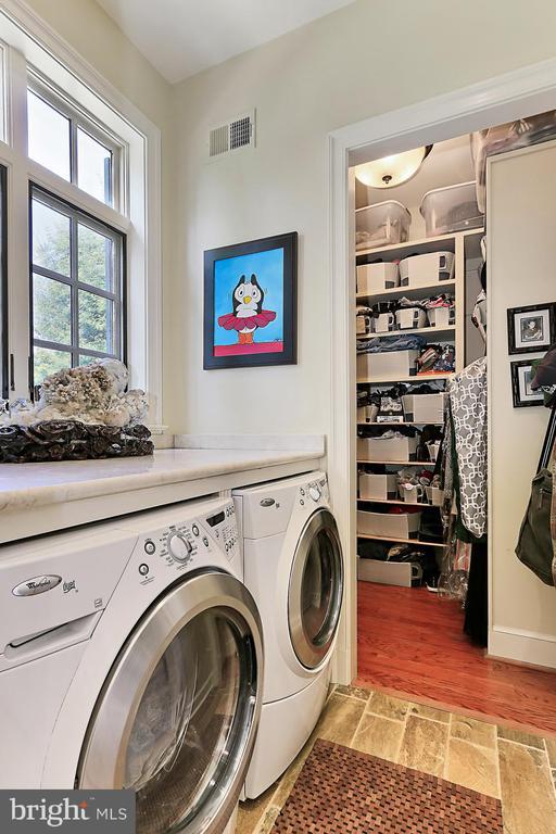 Main Level Washer/Dryer area - 21281 BELLE GREY LN, UPPERVILLE