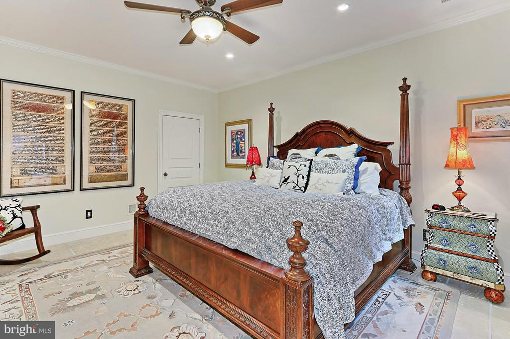 Lower Level Bedroom in Main Residence - 21281 BELLE GREY LN, UPPERVILLE