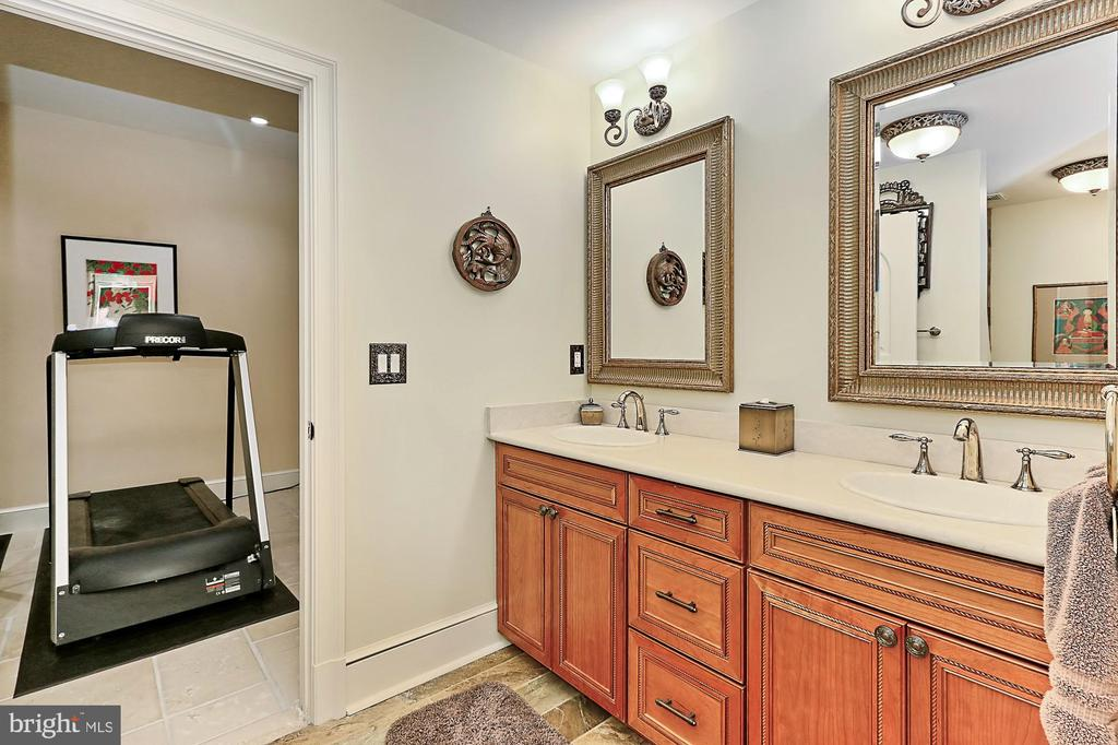 Lower Level Full Bath in Main Residence - 21281 BELLE GREY LN, UPPERVILLE