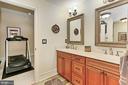 Lower Level Full Bath in Main Residence - 21281 BELLE GREY LN, UPPERVILLE