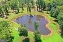 one of two ponds this one with hydraulic pump - 21281 BELLE GREY LN, UPPERVILLE