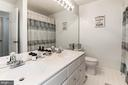 Full Bathroom with dual sinks - 46880 CLARION TER #200, STERLING