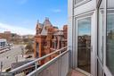 master bedroom balcony - 2000 MASSACHUSETTS AVE NW #R-4, WASHINGTON