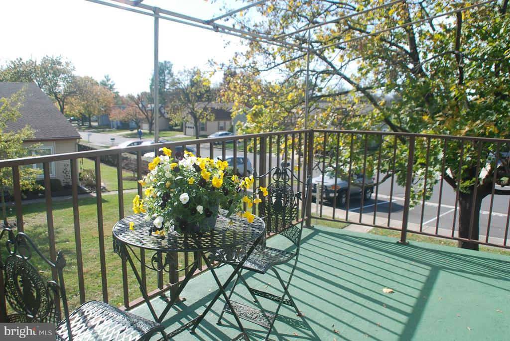 Relax on large deck - 7050 BASSWOOD RD #11, FREDERICK
