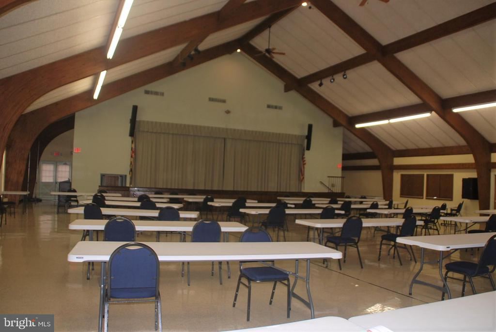 Multi purpose room holds dinners, dances & more - 7050 BASSWOOD RD #11, FREDERICK