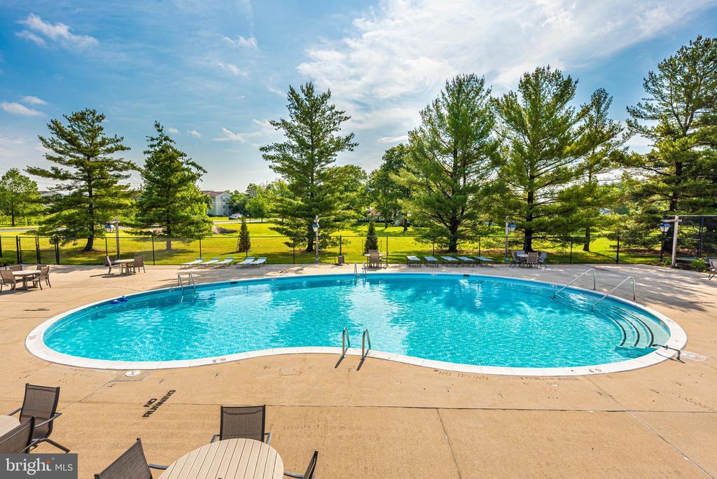 Resort like pool area - 7050 BASSWOOD RD #11, FREDERICK