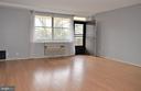 Living Room with Balcony Access - 2030 N ADAMS ST #404, ARLINGTON