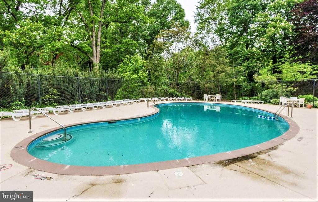 Outdoor Pool in Condominium - 2030 N ADAMS ST #404, ARLINGTON