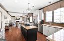 Open Gourmet Kitchen - 8910 DANVILLE TER, FREDERICK