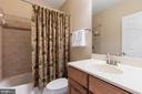 Lower Level Bathroom - 42962 APPALOOSA TRAIL CT, CHANTILLY