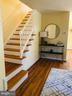 Stairway to upper fl bedrooms - 2812 ABINGDON #A, ARLINGTON