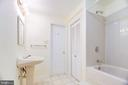 Basement Bath - 8024 OAK HOLLOW LN, FAIRFAX STATION