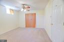 Basement Bedroom - 8024 OAK HOLLOW LN, FAIRFAX STATION