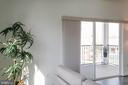 Sliding Glass Doors to Balcony - 9450 SILVER KING CT #203, FAIRFAX