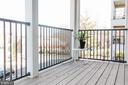 Large Balcony - 9450 SILVER KING CT #203, FAIRFAX