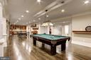 Lower Level Recreation Room - 119 CLARKS RUN RD, GREAT FALLS
