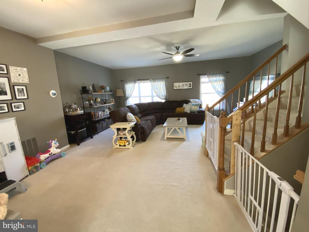 Spacious Living Room - Carpeted - 14103 RED ROCK CT, GAINESVILLE