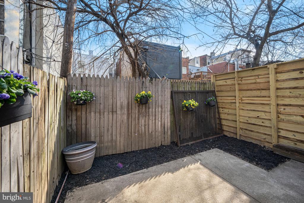 Backyard - 1911 9 1/2 ST NW, WASHINGTON