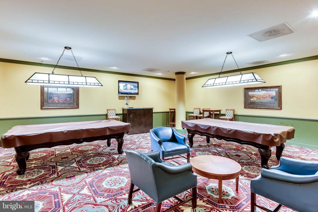 Gather friends for a game of pool - 19365 CYPRESS RIDGE TER #1007, LEESBURG