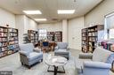 Check out a book at the library - 19365 CYPRESS RIDGE TER #1007, LEESBURG
