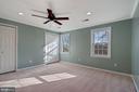 Upper level Bedroom - 6703 WASHINGTON BLVD #F, ARLINGTON