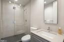 Guest bathroom - 2127 N ST NW, WASHINGTON
