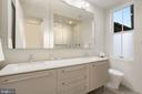 Primary bathroom - 2127 N ST NW, WASHINGTON